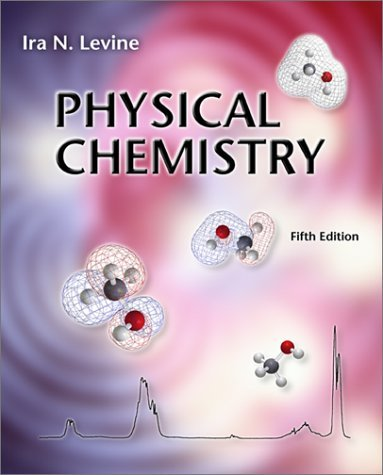 Physical Chemistry  5th 2002 (Revised) 9780072534955 Front Cover