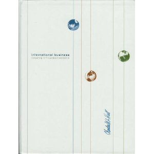 International Business : Competing in the Global Marketplace 5th 2005 edition cover