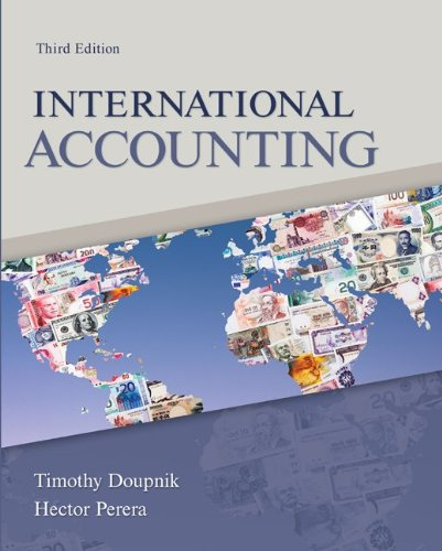 International Accounting  3rd 2012 edition cover