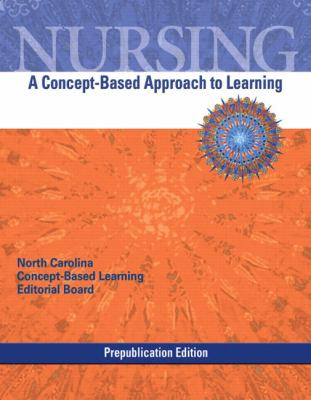 Nursing A Concept-Based Approach to Learning Prep  2010 9780135077955 Front Cover