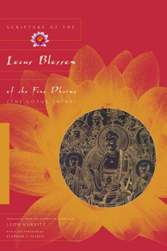 Scripture of the Lotus Blossom of the Fine Dharma (The Lotus Sutra)  2nd 2009 (Revised) edition cover