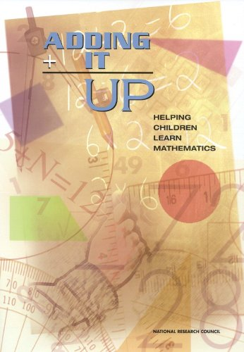 Adding It Up Helping Children Learn Mathematics  2001 edition cover