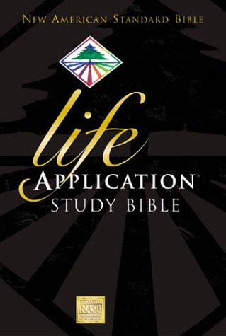 NASB Life Application Study Bible   2000 9780310900955 Front Cover