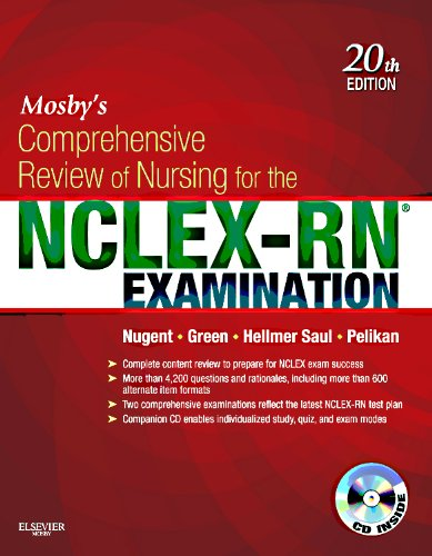Mosby's Comprehensive Review of Nursing for the NCLEX-RN� Examination  20th 2012 edition cover