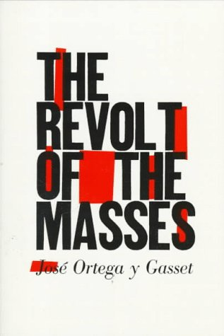 Revolt of the Masses   1964 edition cover