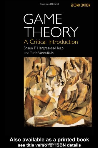 Game Theory A Critical Introduction 2nd 2004 (Revised) edition cover
