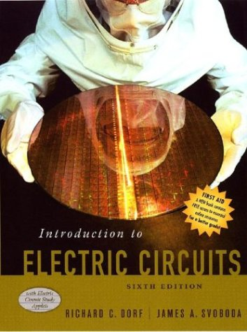 Introduction to Electric Circuits  6th 2004 (Revised) edition cover