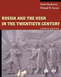 Russia and the USSR in the Twentieth Century  4th 2002 (Revised) edition cover