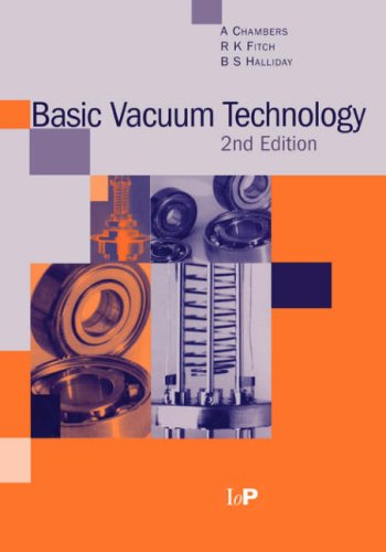 Basic Vacuum Technology  2nd 1998 (Revised) edition cover