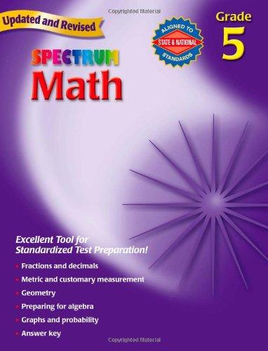 Math, Grade 5   2007 edition cover