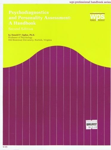 Psychodiagnostics and Personality Assessment : A Handbook 2nd edition cover