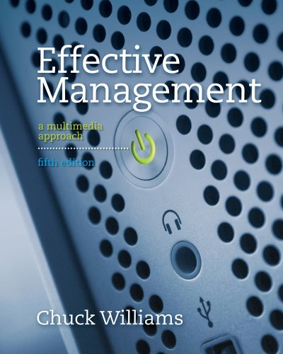 Effective Management  5th 2012 edition cover