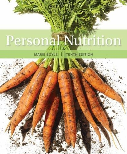 Personal Nutrition:   2018 9781337557955 Front Cover