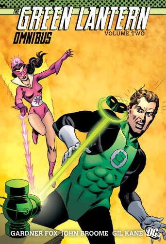 Green Lantern Omnibus   2011 9781401232955 Front Cover