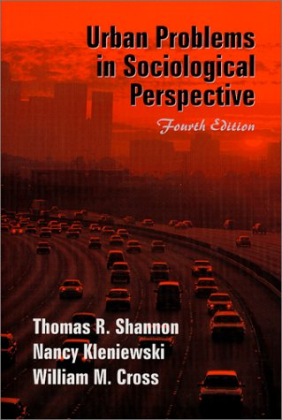 Urban Problems in Sociological Perspective  4th 2002 edition cover