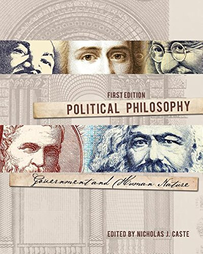 Political Philosophy Government and Human Nature  2014 edition cover