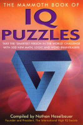 The Mammoth Book of IQ Puzzles N/A edition cover