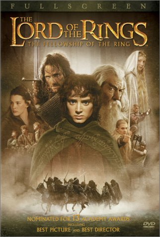 The Lord of the Rings - The Fellowship of the Ring (Full Screen Edition) System.Collections.Generic.List`1[System.String] artwork
