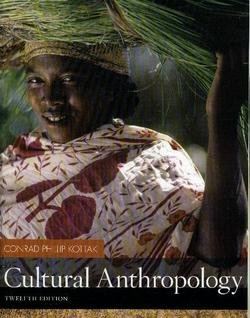 Cultural Anthropology  12th 2008 edition cover