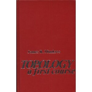 Topology A First Course  1975 edition cover