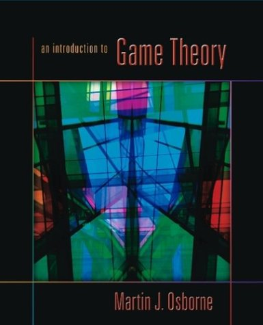 Introduction to Game Theory   2004 (Reprint) edition cover