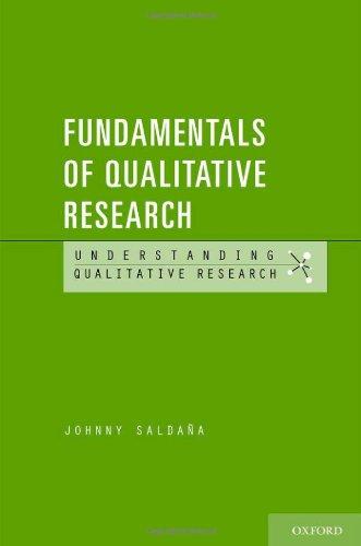 Fundamentals of Qualitative Research   2011 edition cover