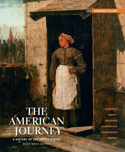 American Journey A History of the United States 6th 2011 (Revised) edition cover