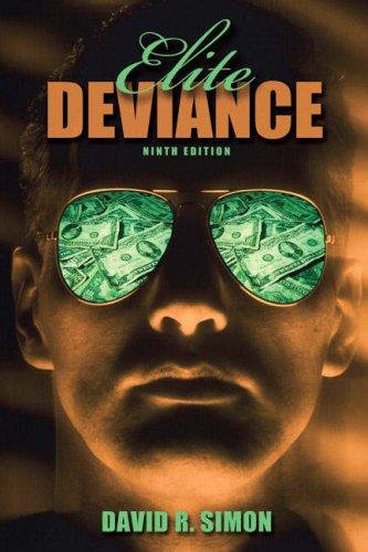 Elite Deviance  9th 2008 edition cover
