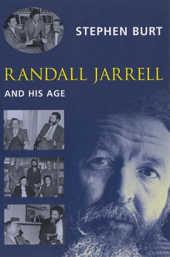 Randall Jarrell and His Age   2005 9780231125956 Front Cover