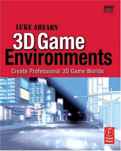 3D Game Environments Create Professional 3D Game Worlds  2007 edition cover