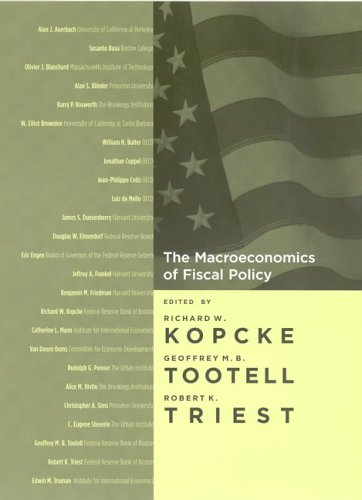 Macroeconomics of Fiscal Policy   2005 9780262112956 Front Cover