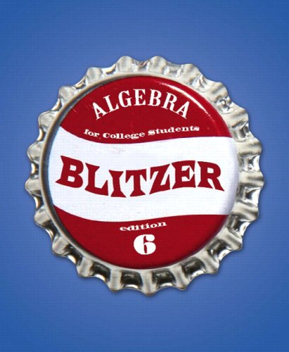 Algebra for College Students + Mymathlab/Mystatlab Student Access Kit:  6th 2008 edition cover