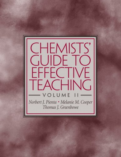 Chemists' Guide to Effective Teaching  2nd 2009 9780321611956 Front Cover