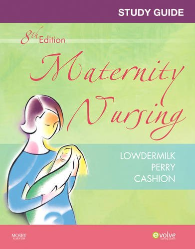 Study Guide for Maternity Nursing  8th 2010 edition cover