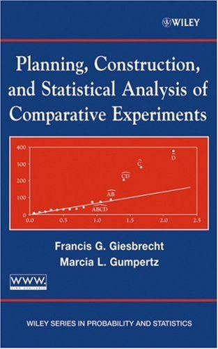 Planning, Construction, and Statistical Analysis of Comparative Experiments   2004 9780471213956 Front Cover