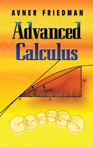 Advanced Calculus   2007 edition cover