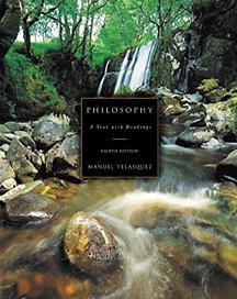 Philosophy A Text with Readings 8th 2002 9780534561956 Front Cover