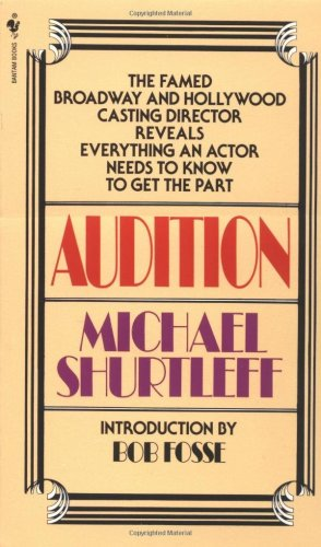 Audition   1978 9780553272956 Front Cover