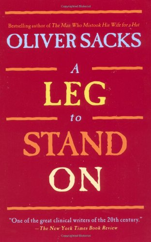 Leg to Stand On   1998 edition cover
