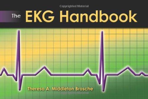 EKG Handbook   2010 9780763769956 Front Cover
