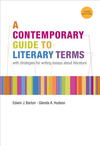 Contemporary Guide to Literary Terms  3rd 2012 edition cover