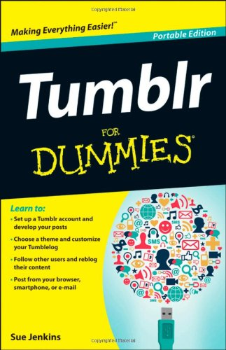 Tumblr for Dummies   2012 edition cover