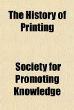 History of Printing N/A edition cover