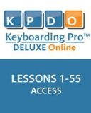 KEYBOARDING PRO DELUXE,LESS.1-55-ACCESS N/A edition cover