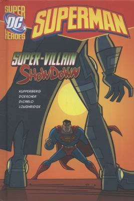 Super-Villain Showdown   2010 9781406214956 Front Cover