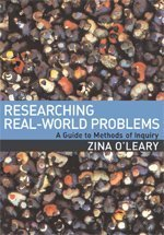 Researching Real-World Problems A Guide to Methods of Inquiry  2006 edition cover