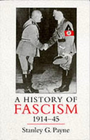 History of Fascism, 1914-1945   1996 edition cover