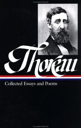 Thoreau Collected Essays and Poems  2001 edition cover