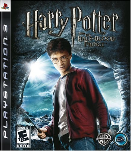 Harry Potter and the Half Blood Prince PlayStation 3 artwork