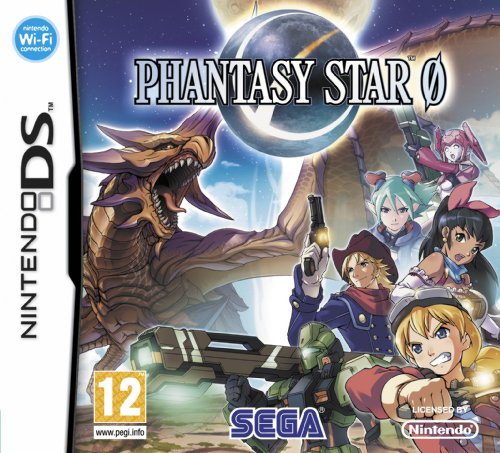 Phantasy Star Zero (Nintendo DS) Nintendo DS artwork